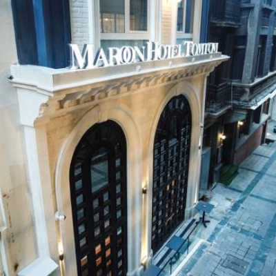 hotel icon Maroon Tomtom